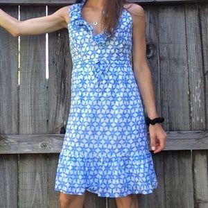 Lily Pulitzer Blue Silk Floral Dress 4